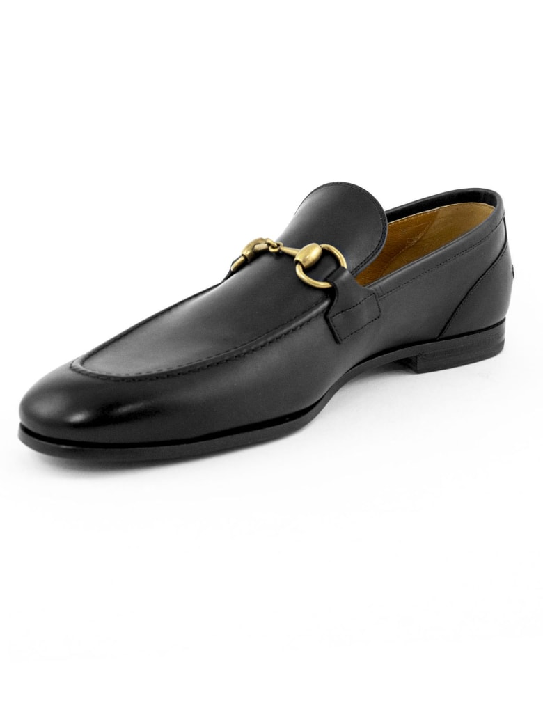 Gucci Gucci Jordaan Black Loafer - Nero
