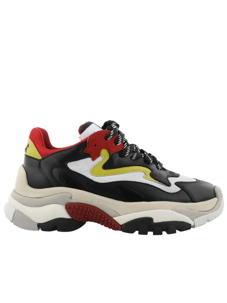 Ash Addict Sneakers - Red-white/yellow