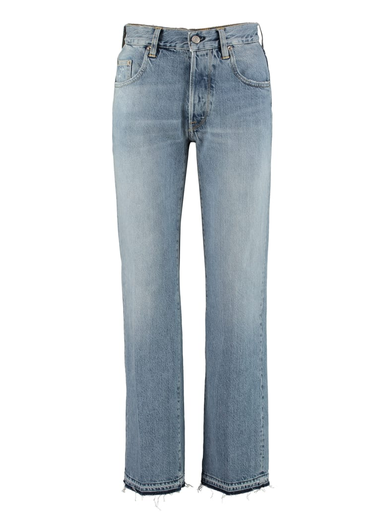 Golden Goose Ava Five Pocket Straight-leg Jeans - Denim