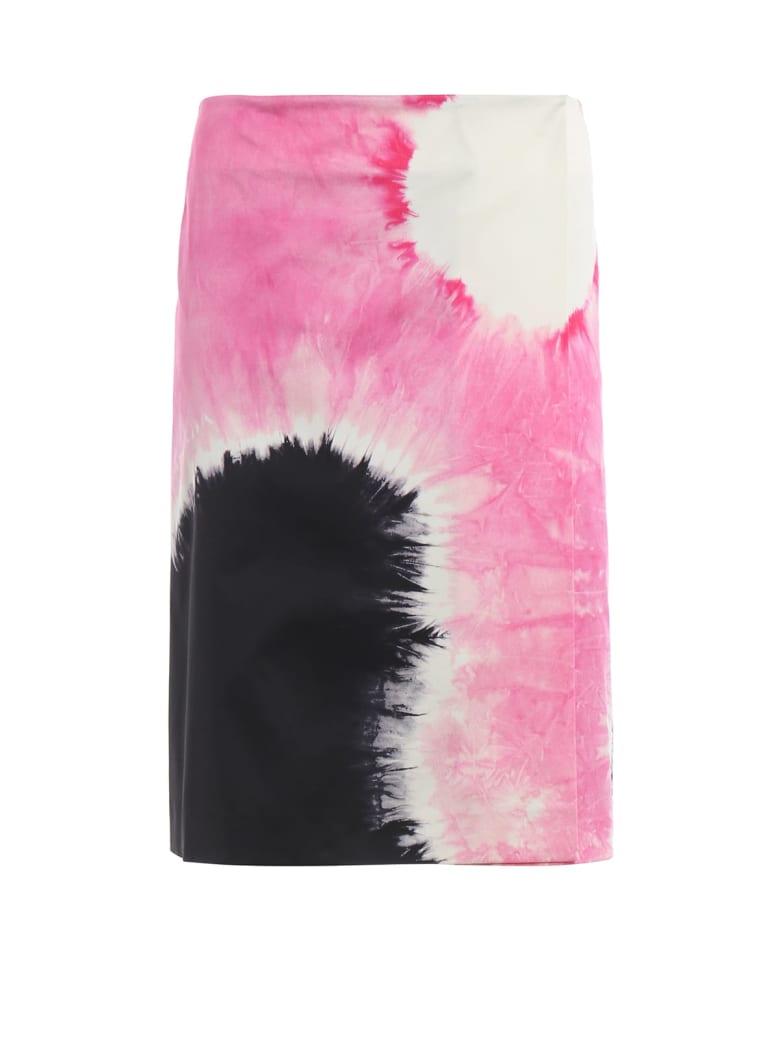 Prada Patterned Skirt - P Nero+rosa