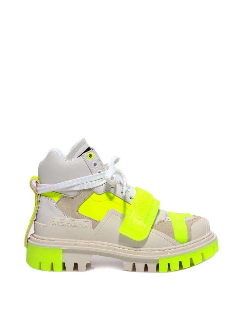 Dolce & Gabbana Trekking Boots Sneakers - Yellow