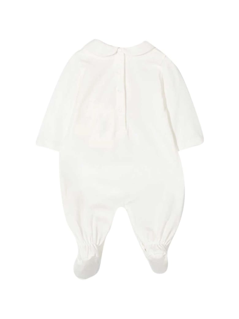 Fendi White Babysuit - Gesso