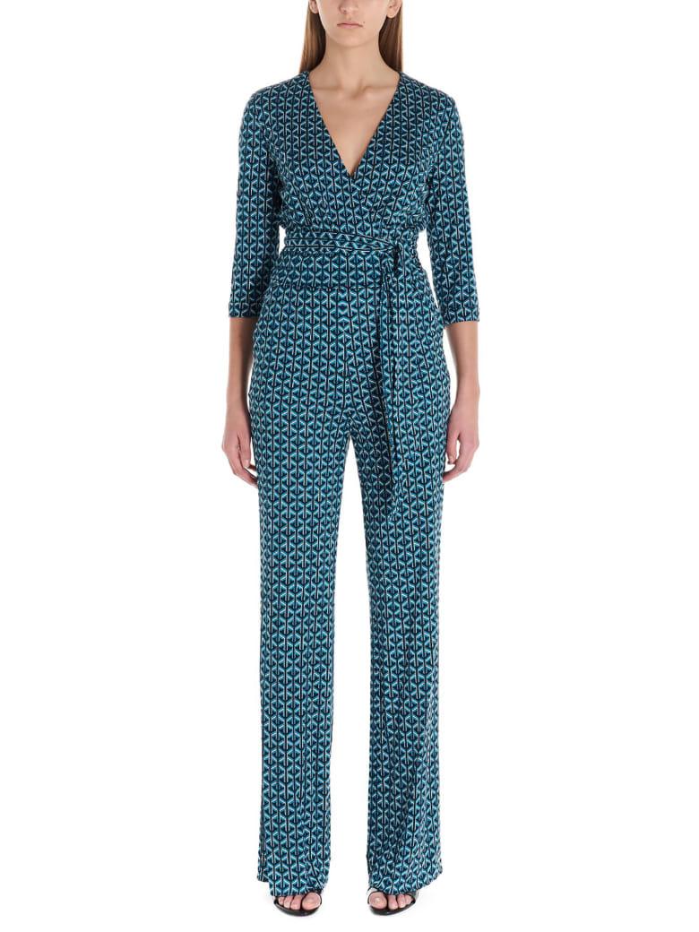 Diane Von Furstenberg 'pamela' Jumpsuits - Multicolor