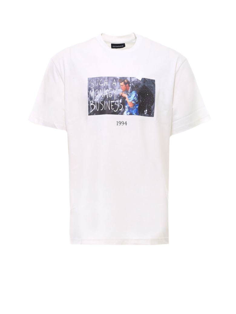 Throwback Ace T-shirt - White