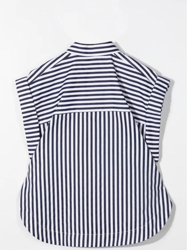 Alberta Ferretti Sleeveless Striped Shirt - Variante unica