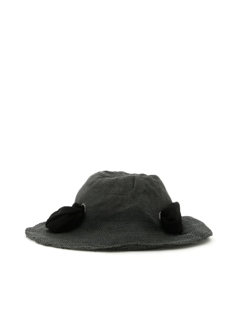 Flapper Dalia Hat - BLACK (Black)