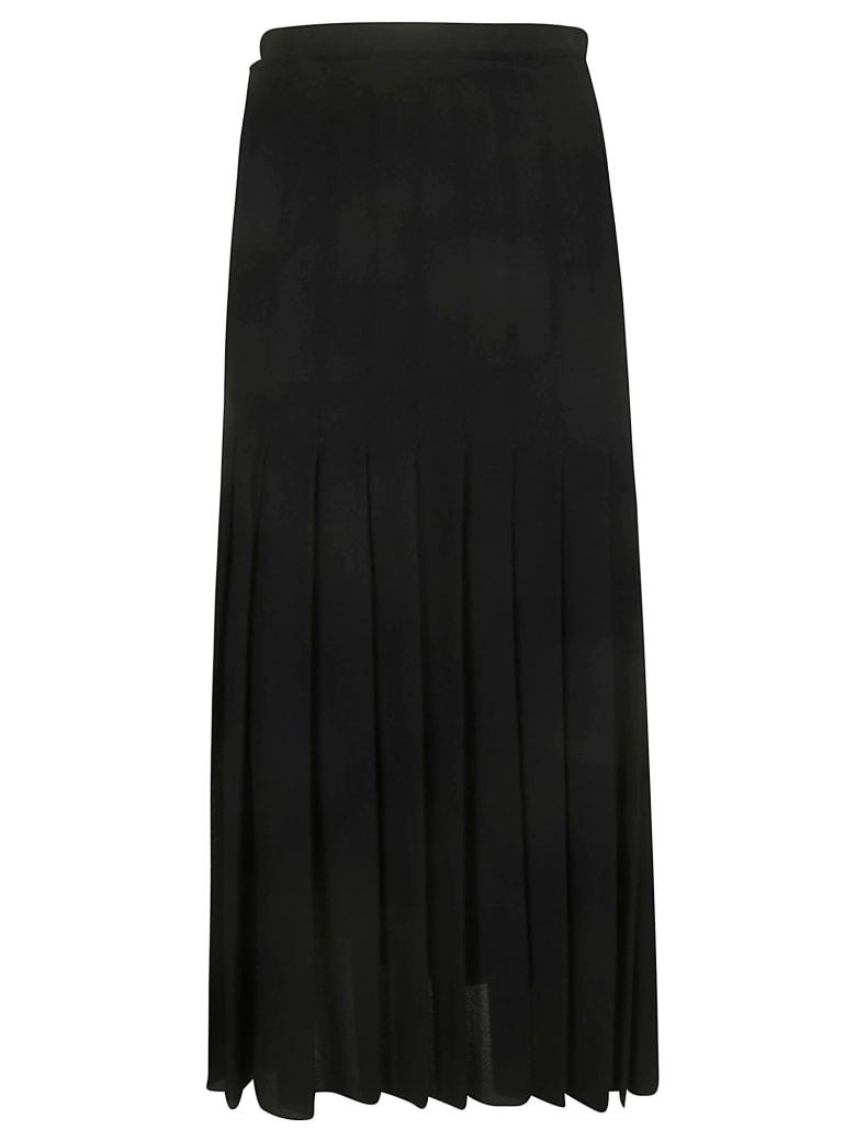 Jil Sander Pleated Skirt - Black