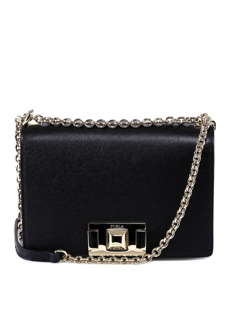 Furla Mimi Shoulder Bag - Black
