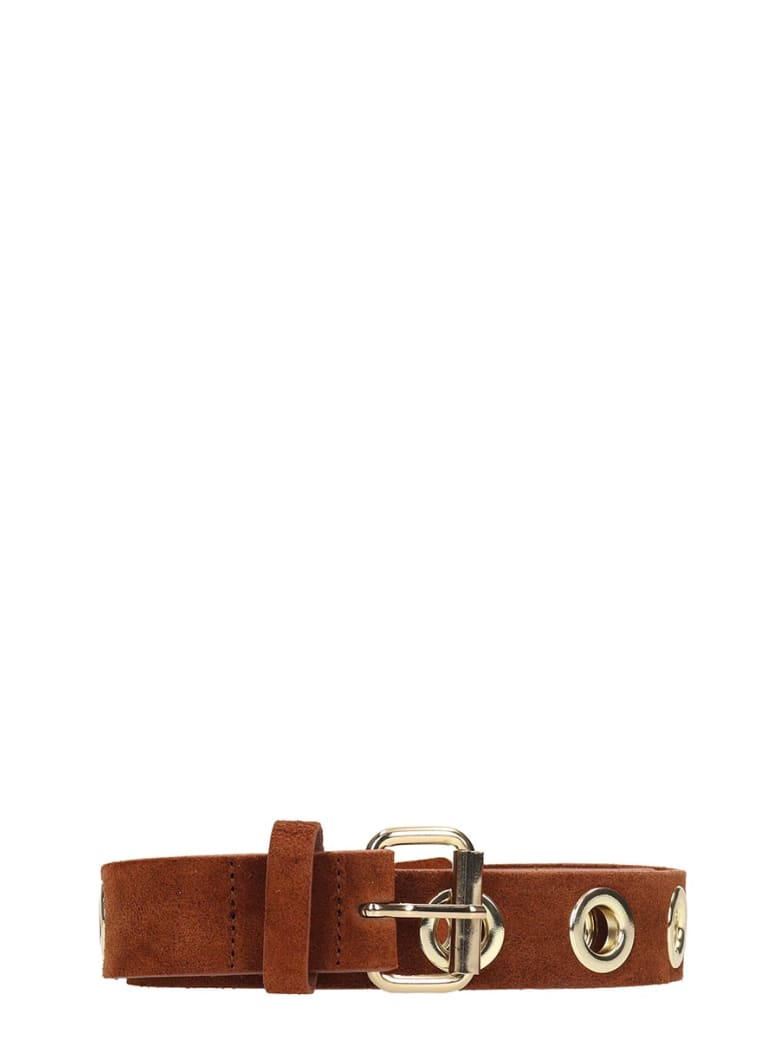 B-Low the Belt Baby Heidi Brown Leather Belt - leather color