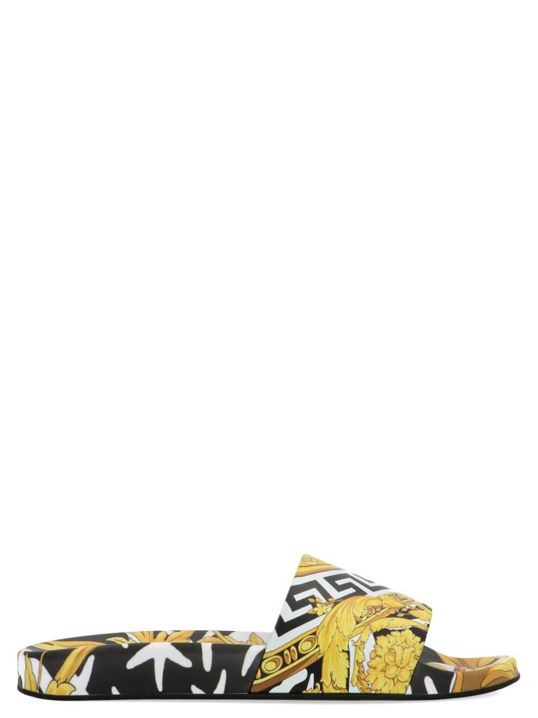 Versace 'wild Barocco' Shoes - Multicolor