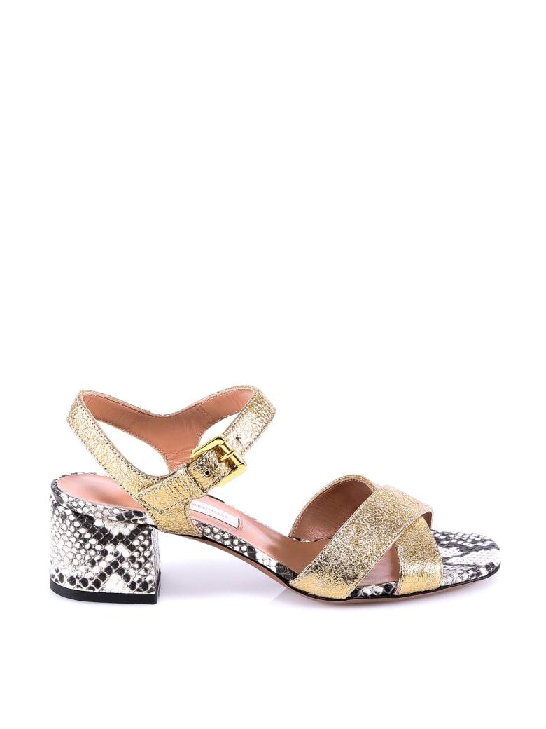 L'Autre Chose Sandals - Gold