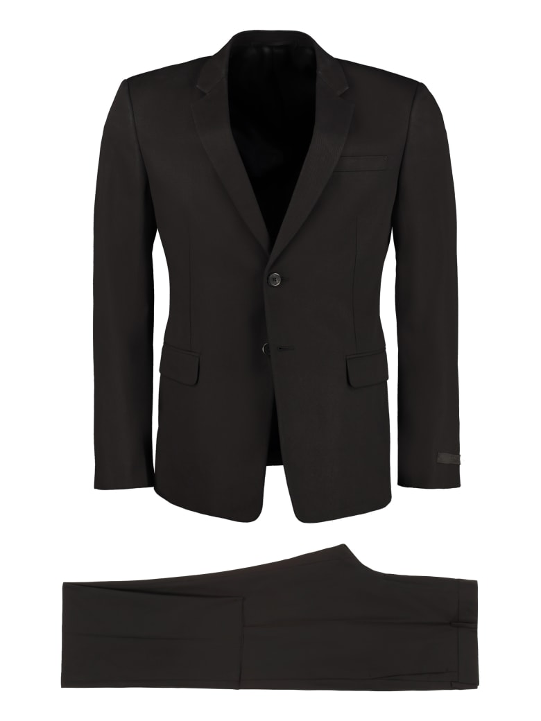 Prada Two-piece Cotton Suit - black