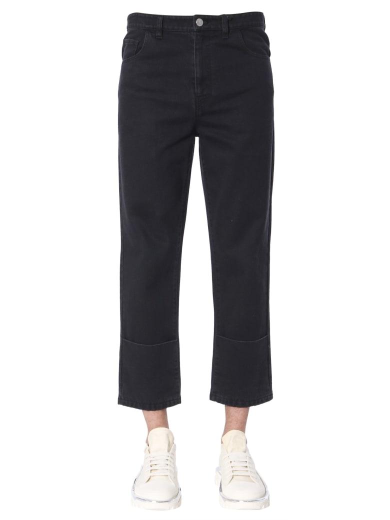 Raf Simons Classic Fit Jeans - NERO