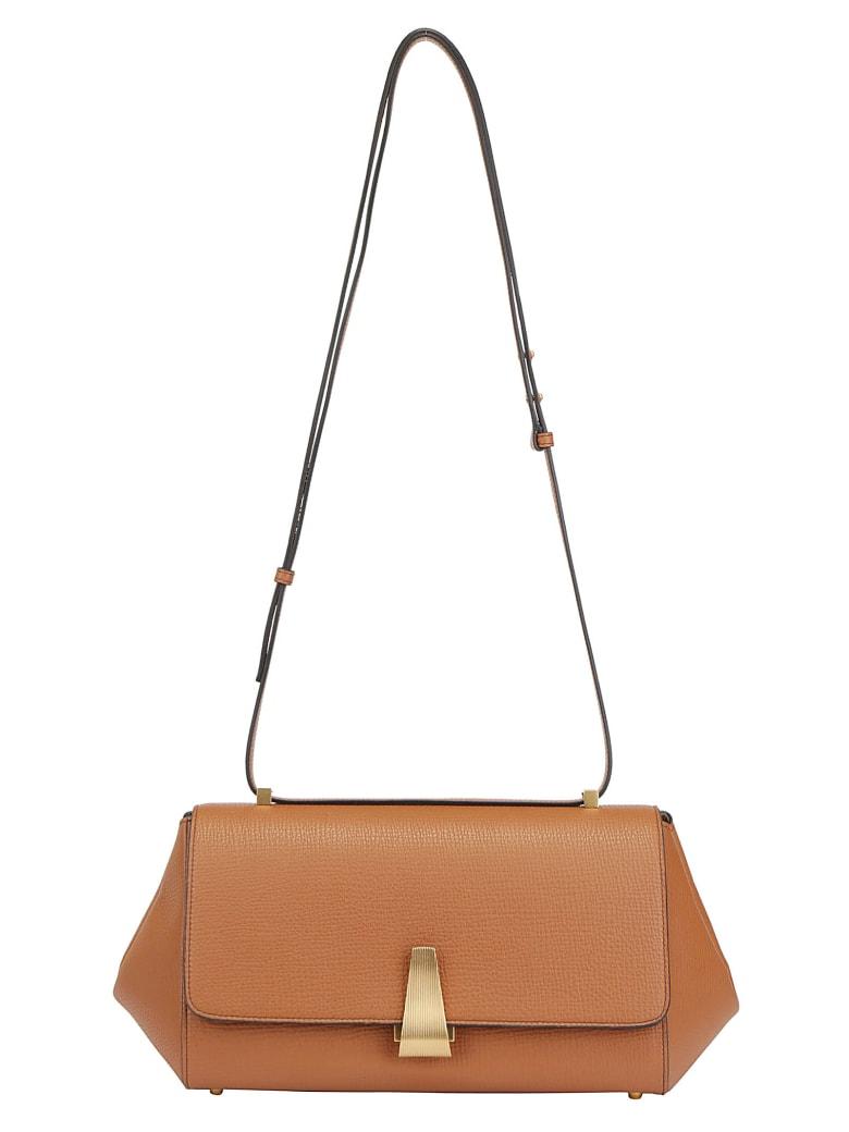Bottega Veneta Shoulder Bag - Wood/gold