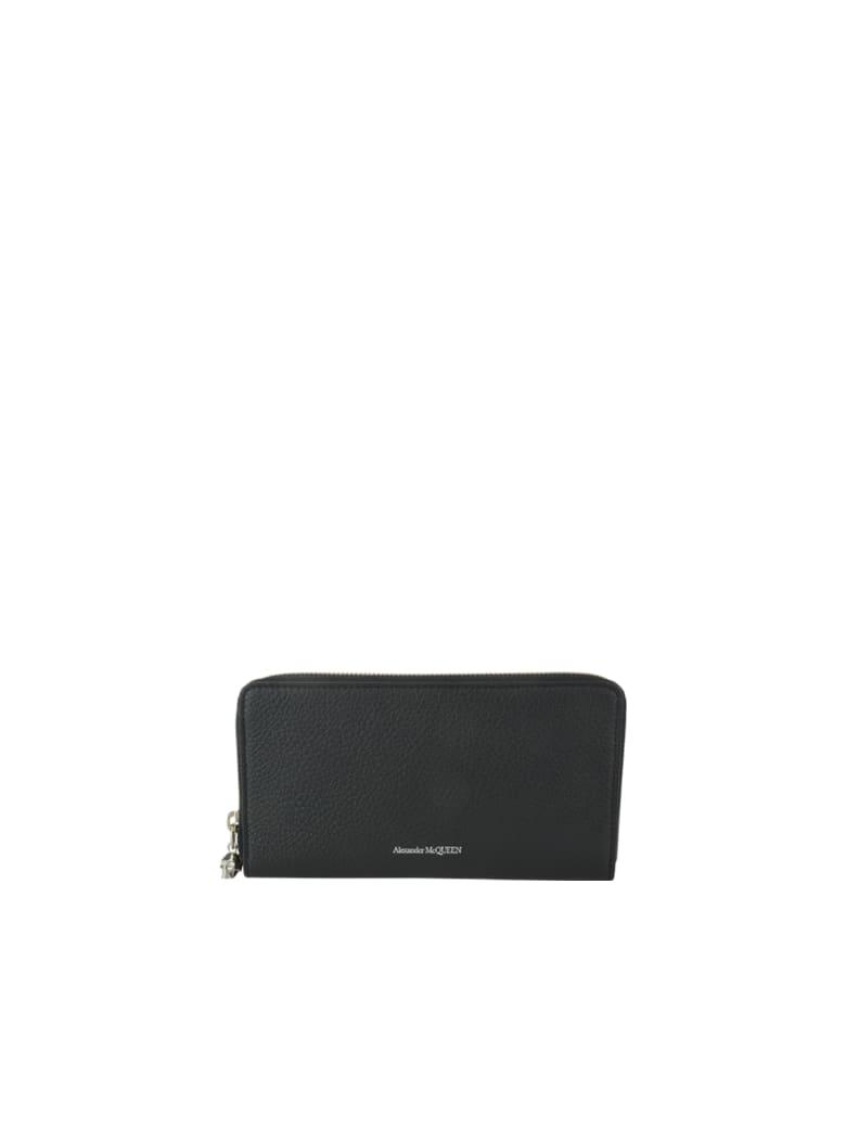 Alexander McQueen Continental Wallet - Black