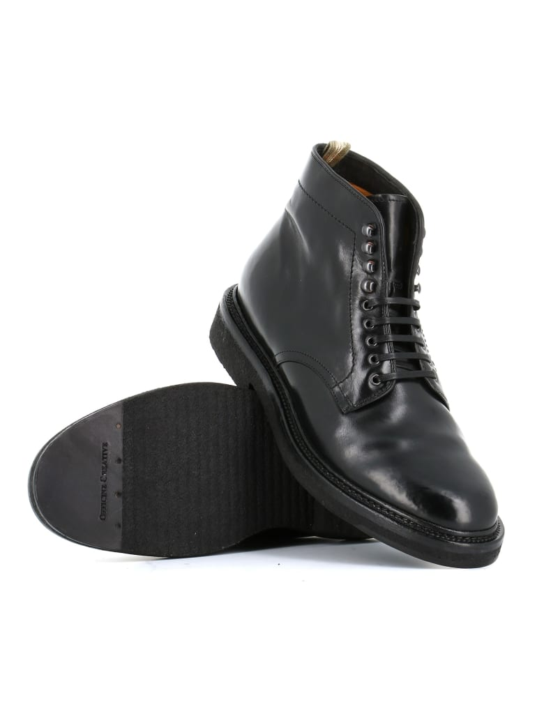 """Officine Creative Lace-up Boots """"stanford/203"""" - Black"""