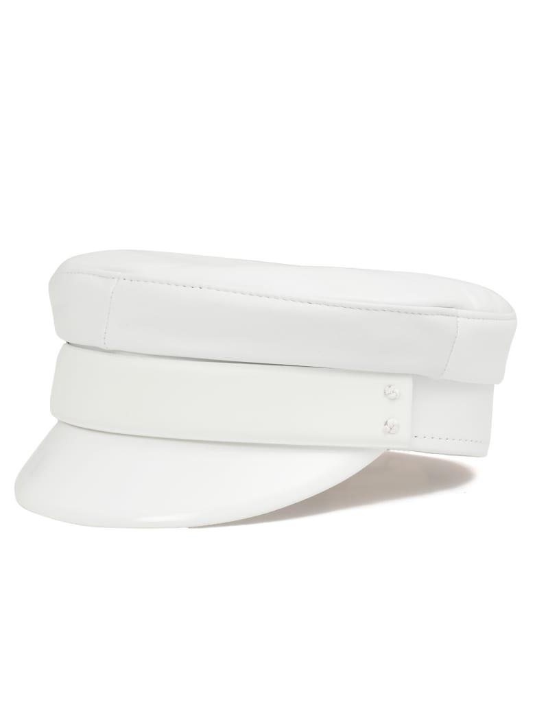 Ruslan Baginskiy Baker Boy Cap - WHITE