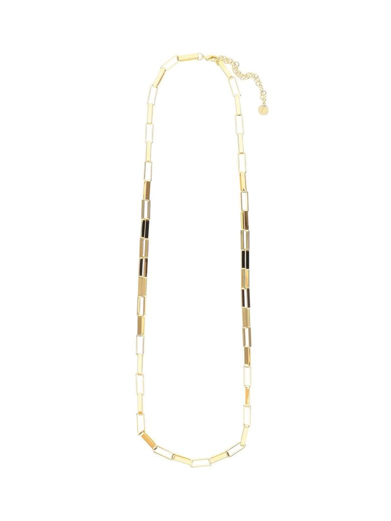 The Attico Golden Brass Necklace - Oro
