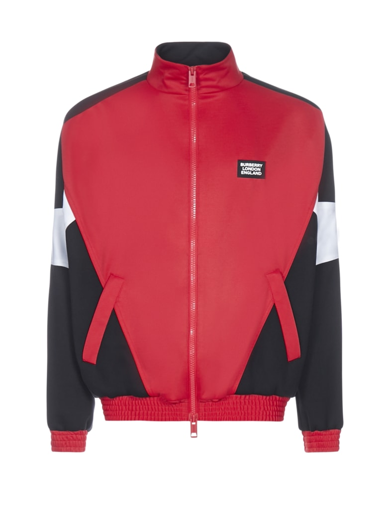 Burberry Fleece - Bright red
