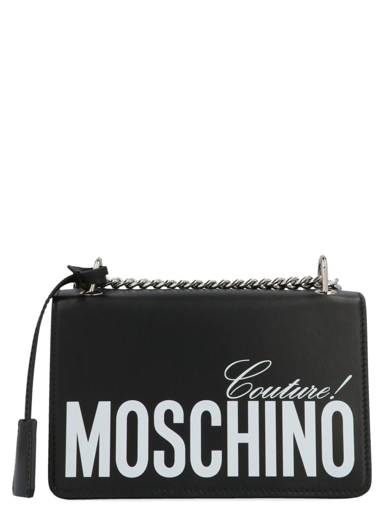 Moschino 'pumpkin Face' Bag - Bianco e nero