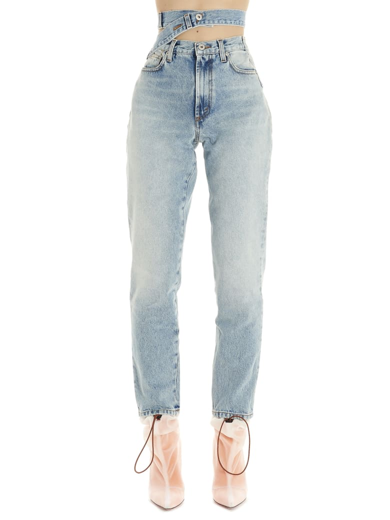 HERON PRESTON 'reworked' Jeans - Light blue