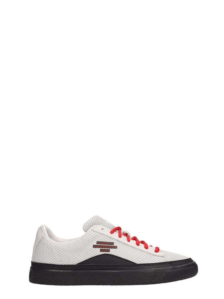 brand new 20186 5d2c0 Puma X Han Kjobenhavn Grey Fabric Han Clyde Sneakers
