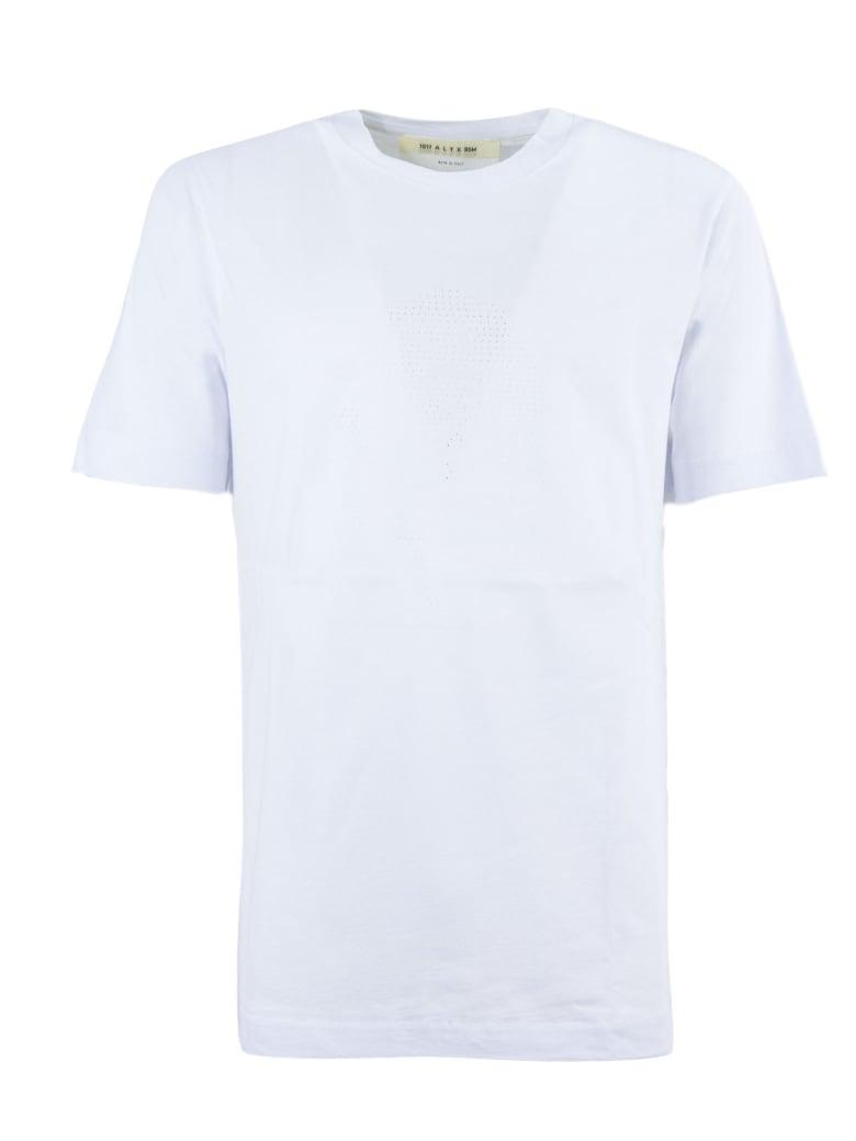 1017 ALYX 9SM White Cotton T-shirt - Bianco