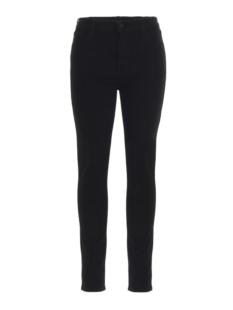 J Brand 'alana' Jeans - Black