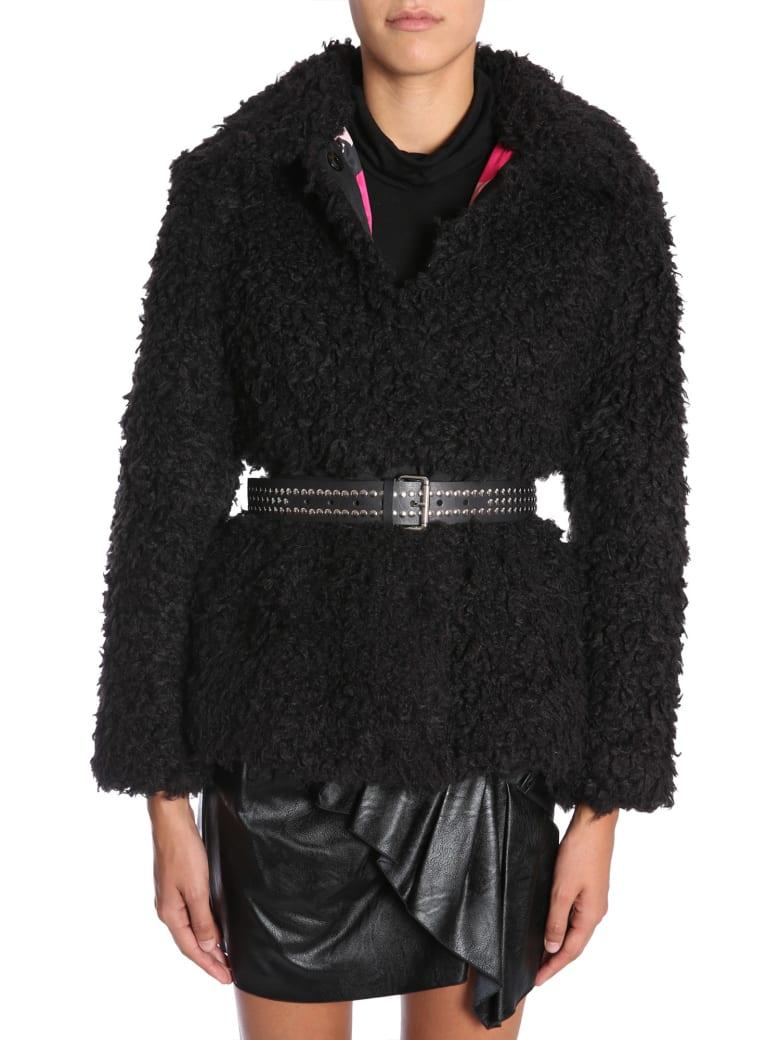 Ainea Eco Shearling Jacket - NERO