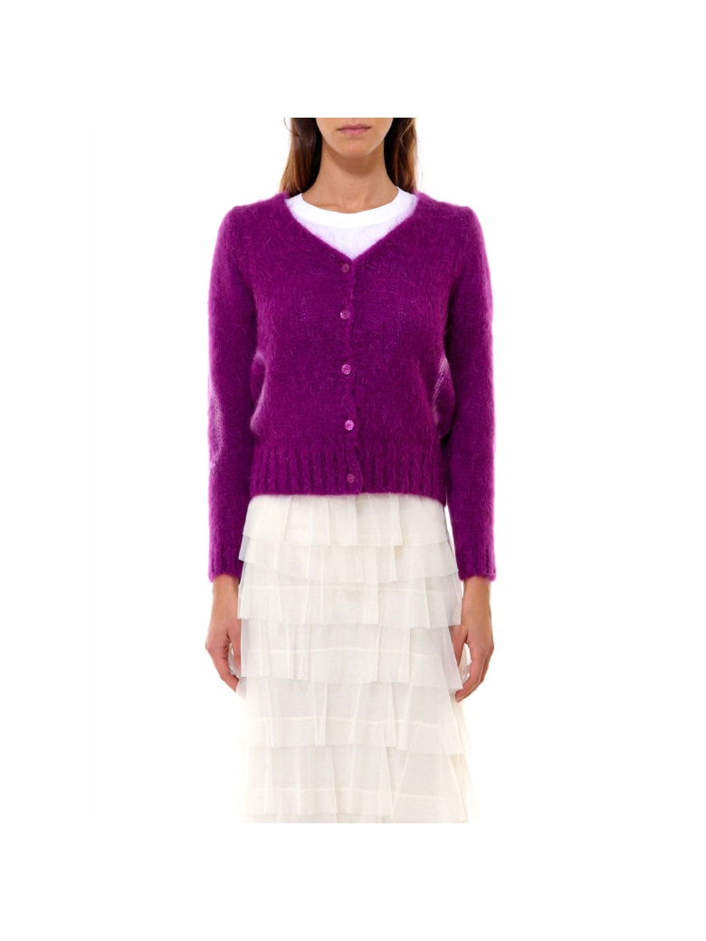 So Allure Cardigan - Purple