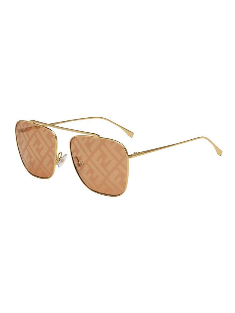 Fendi FF 0406/S Sunglasses - M Gold