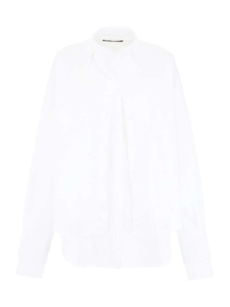 Rokh Double Shirt - WHITE (White)