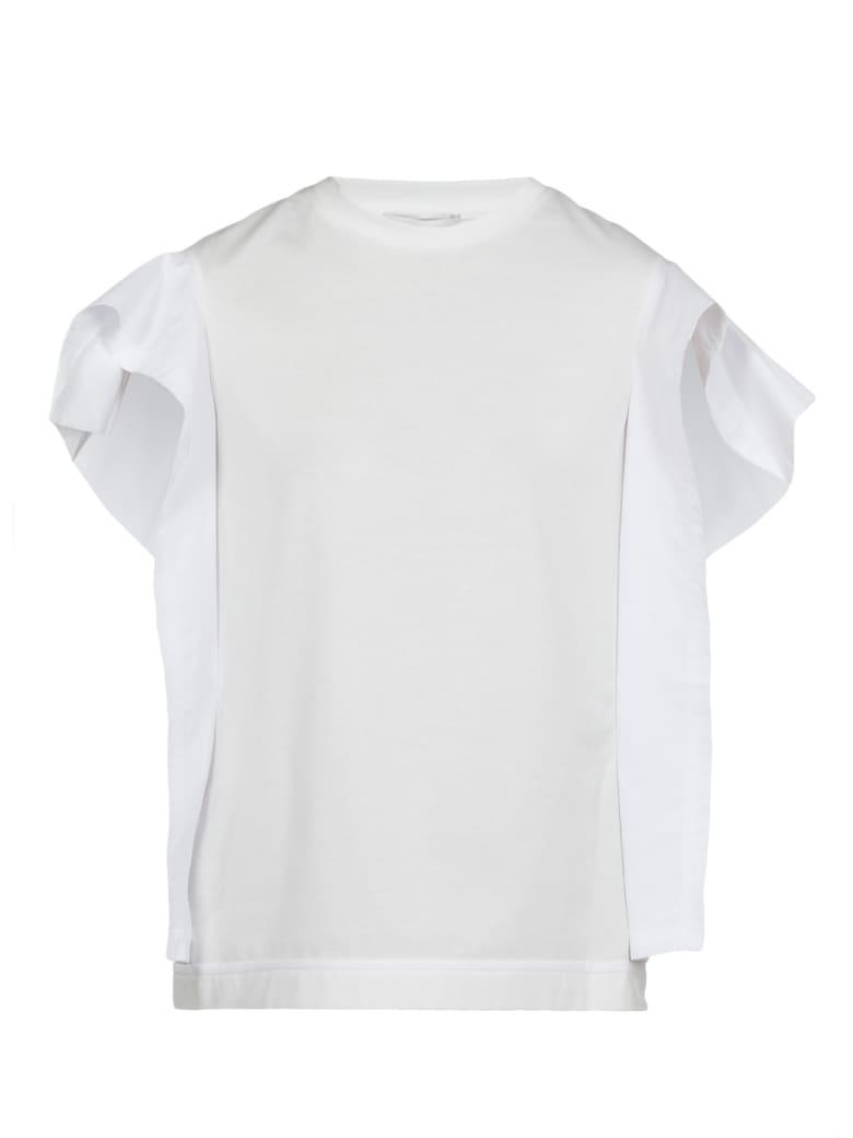 3.1 Phillip Lim Cotton T-shirt - OFF WHITE
