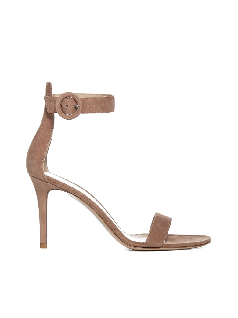 Gianvito Rossi High-heeled shoe - Praline