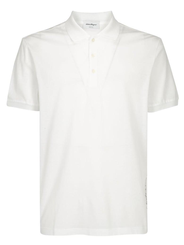 Salvatore Ferragamo Polo Shirt - Bianco