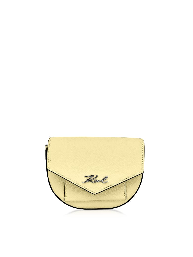 Karl Lagerfeld K/essential Belt Bag - Yellow Lemon