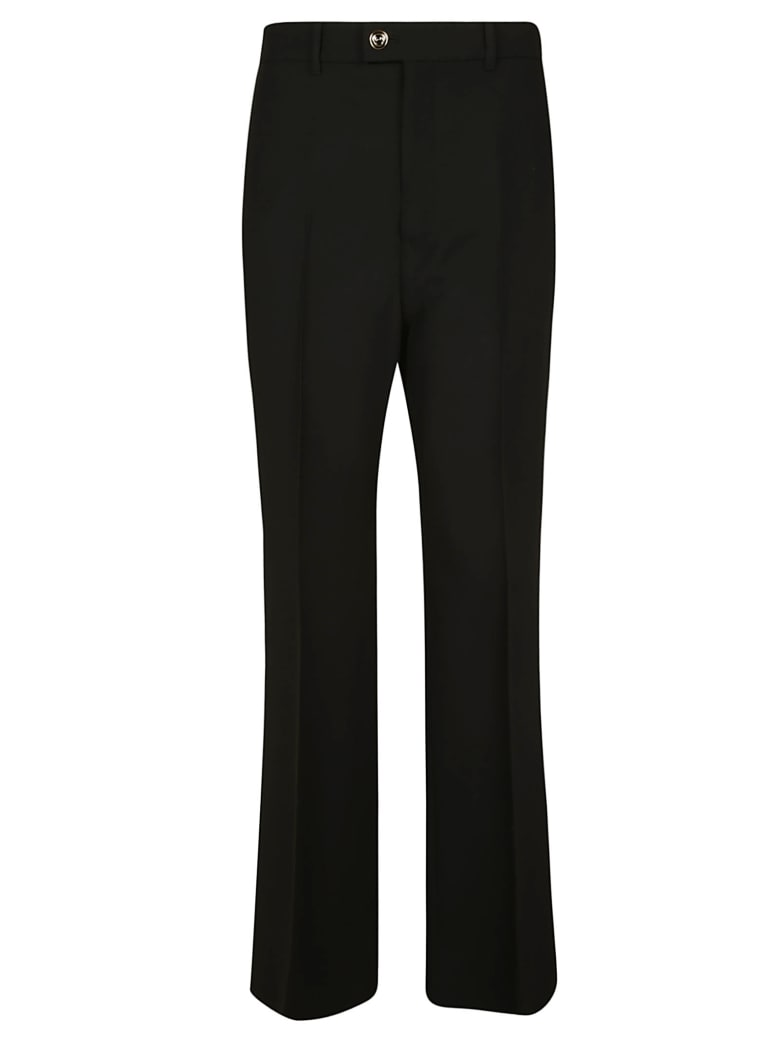 Gucci Flared Leg Trousers - Black
