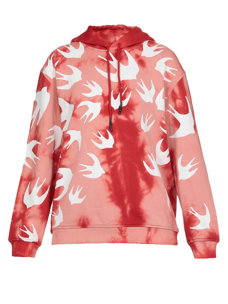 McQ Alexander McQueen Swallow Swarm Sweatshirt - Riot Red