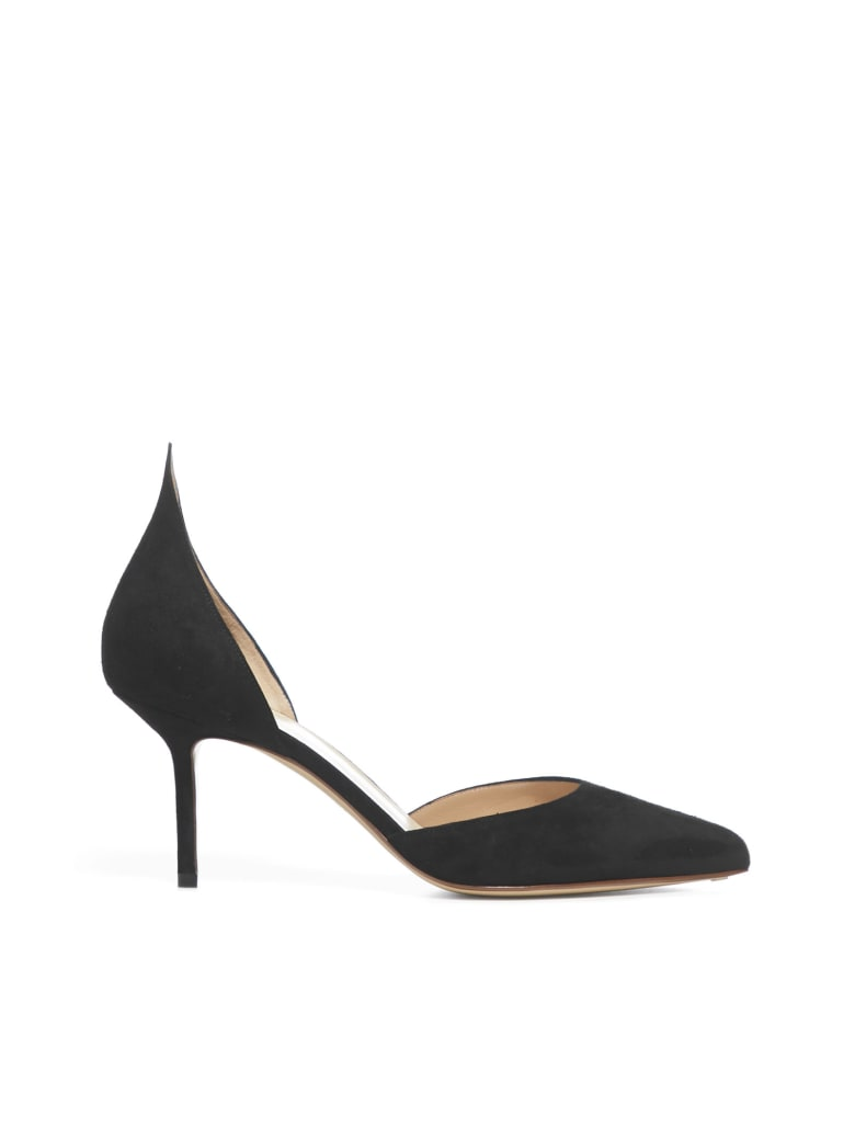 Francesco Russo 75 Mm High-heeled Shoe - Nero