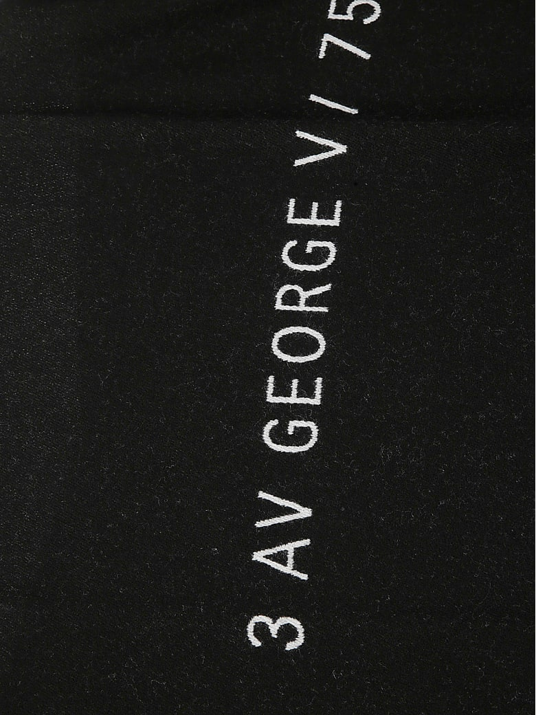 Givenchy Classic Logo Scarf - Bianco