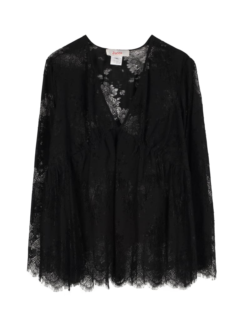 Jucca Lace Blouse - black