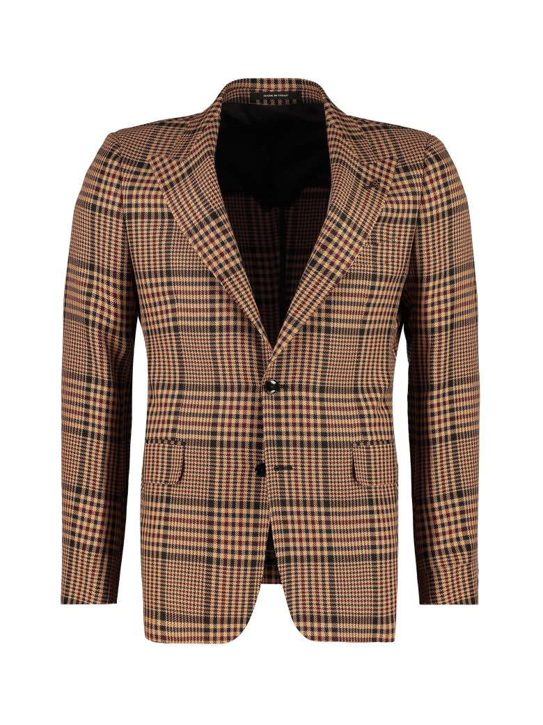 Tagliatore Single-breasted Two Button Jacket - Beige
