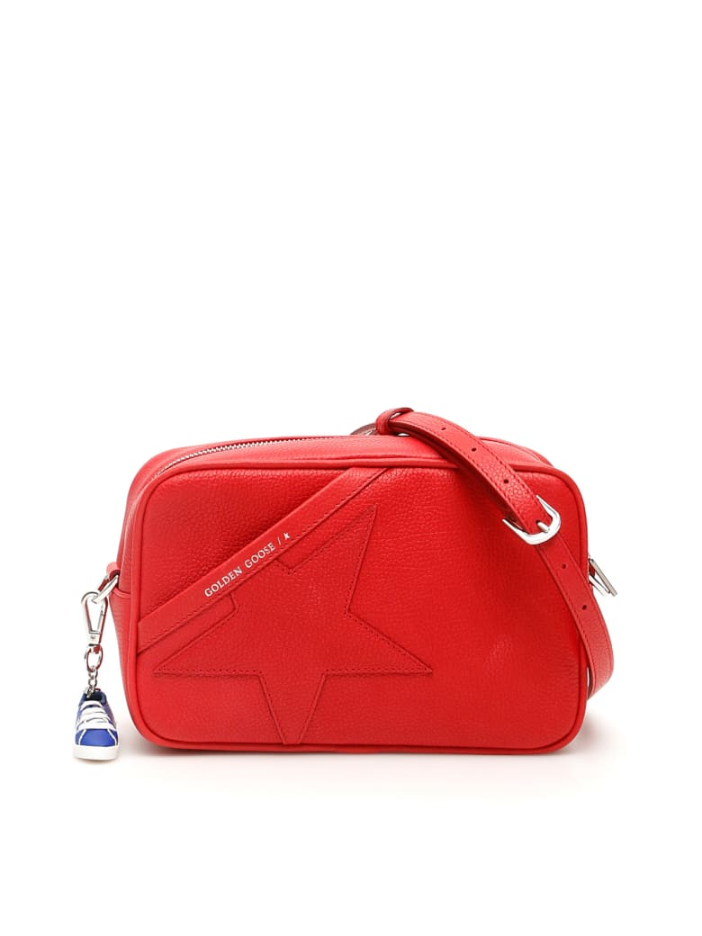 Golden Goose Crossbody Star Bag - RED (Red)