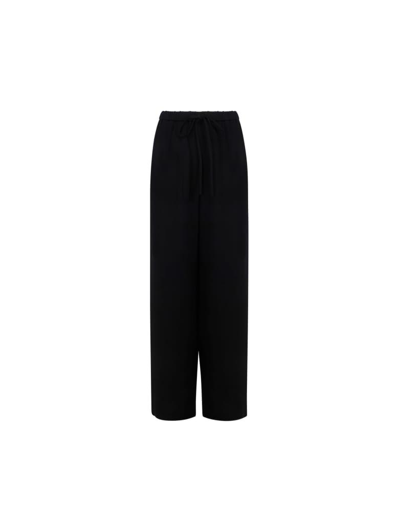 Valentino Wide Leg Pants - Nero