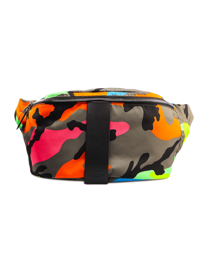 Valentino Garavani Belt Bag - Army Green/fluo