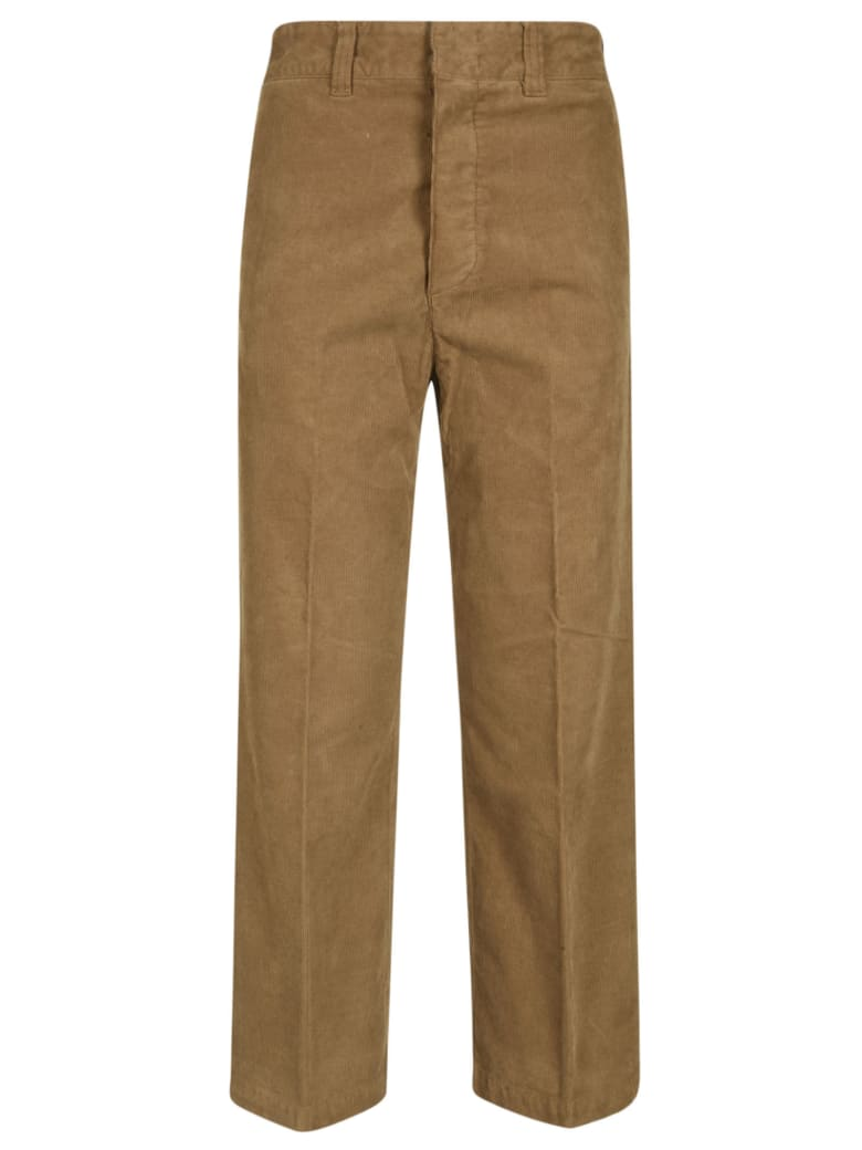 Department 5 Straight Trousers - Tabacco