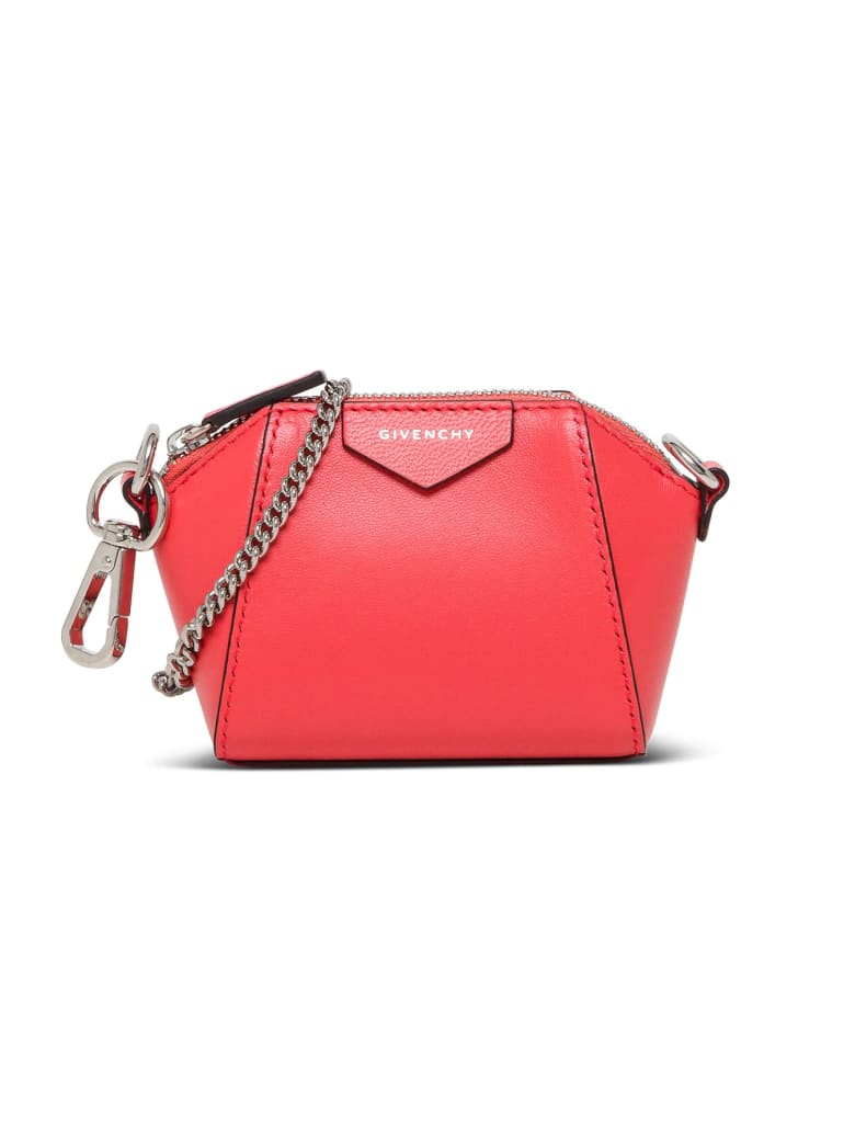 Givenchy Antigona Nano Crossbody Bag - Arancio