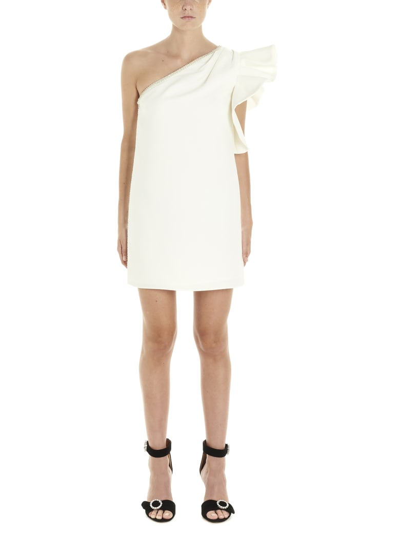 self-portrait Dress - White