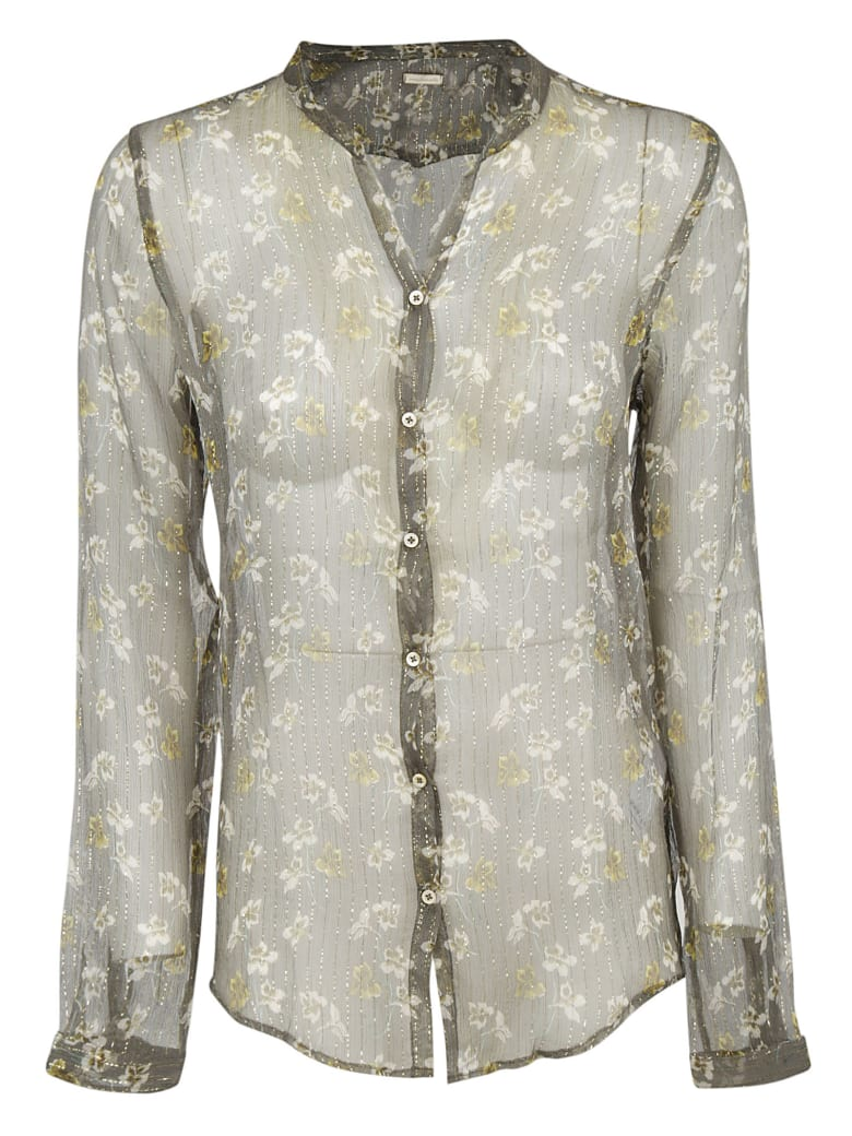 Massimo Alba All-over Print Shirt - Ruby