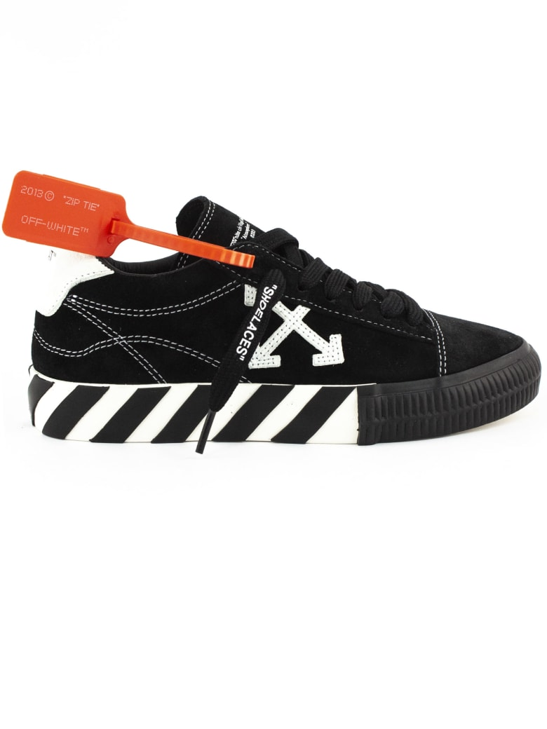 Off-White Black Suede Sneaker - Nero